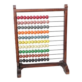 1930's Antique School Abacus For Sale