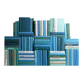 Modern Ocean Book Wall - Set of 100