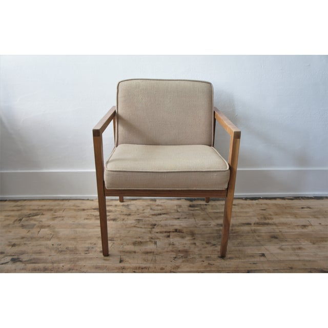 Textile 1960s Vintage George Nelson Lounge Chair For Sale - Image 7 of 13