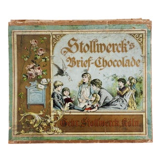 Antique German Chocolate Box For Sale