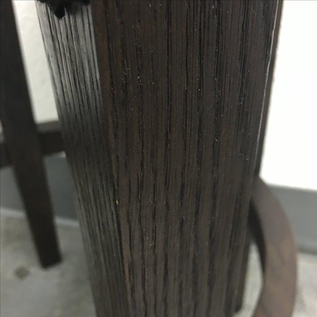 Restoration Hardware Bennett Round Stool - Image 6 of 8