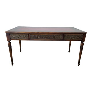 1960s Vintage French Neoclassical Floating Desk For Sale