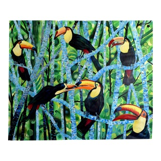 """Ramphastos Fantasia"" Acrylic on Paper Painting"