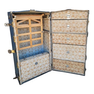 Steamer / Cabin Wardrobe Trunk For Sale