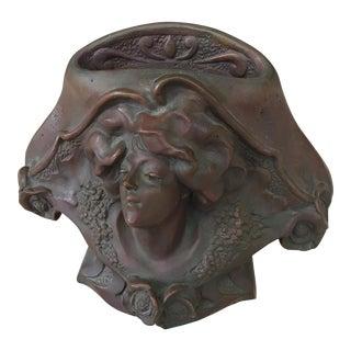 Art Nouveau French P. Philippe Bronze Vase