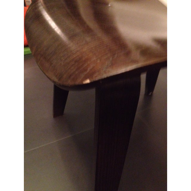 Eames Molded Plywood Dcw Dining Chairs - Set of 4 - Image 5 of 9