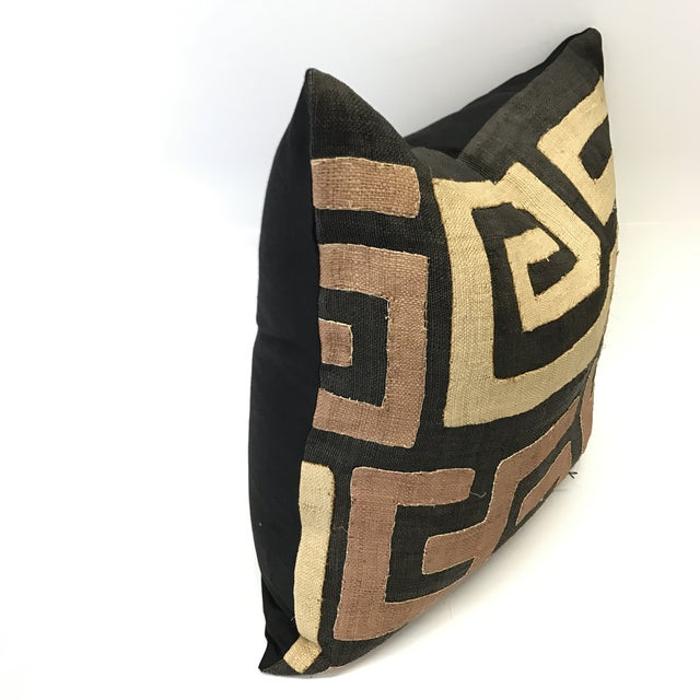African Kuba Cloth Pillow - Image 3 of 5