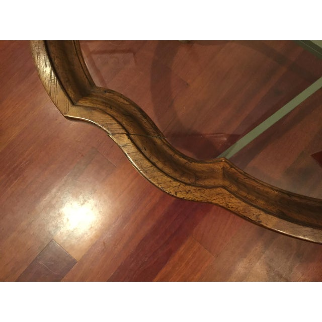 Drexel Heritage 1990s American Classical Drexel Heritage Claw Foot Coffee Table For Sale - Image 4 of 7