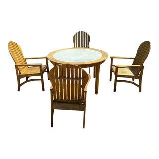Kingsley Patio Set - 5 Pieces For Sale