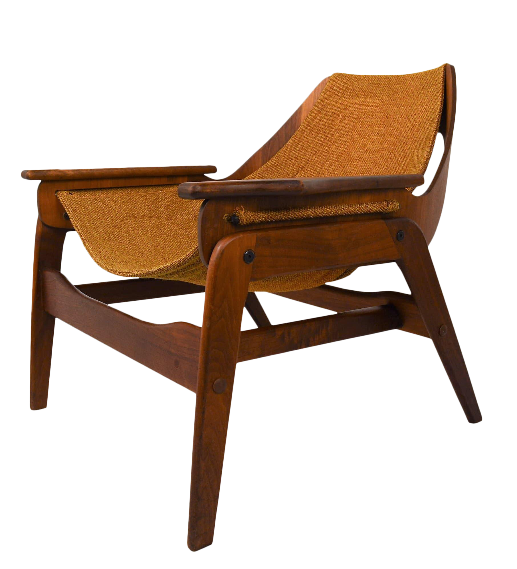 Superieur Mid Century Modern Sling Chair By Jerry Johnson
