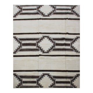 Aara Rugs Inc. Hand Knotted Navajo Rug - 7′6″ × 9′10″ For Sale