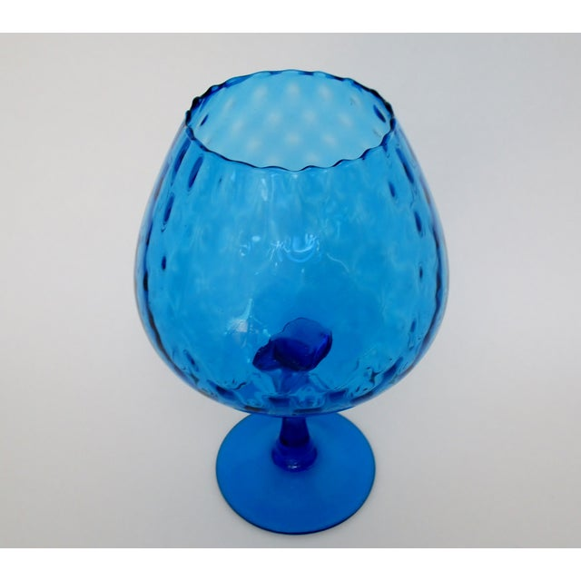 Mid 20th Century Vintage Italian Goblet Vase For Sale - Image 5 of 6