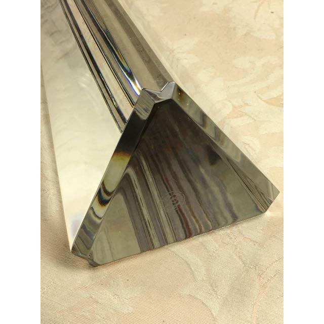 """Crystal Baccarat French 19"""" Crystal Obelisk For Sale - Image 7 of 11"""