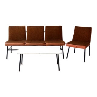 Mid-Century Office Furniture - Set of 3 For Sale