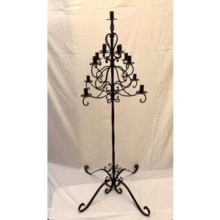 Vintage Wrought Iron Candelabra Preview