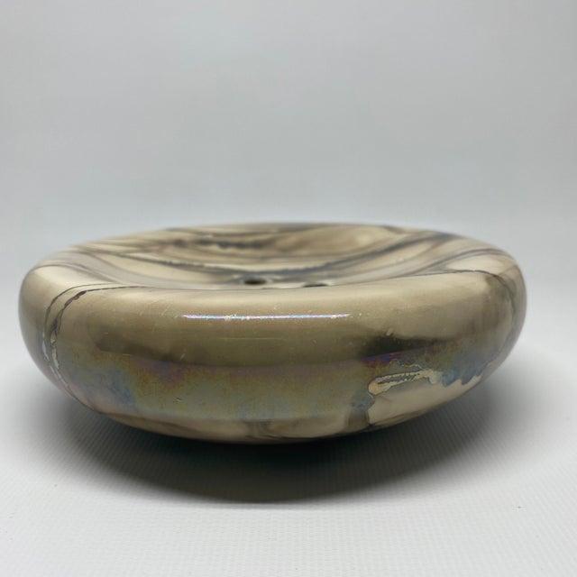 Vintage Nieslen Ceramic Soap Dish For Sale - Image 9 of 13