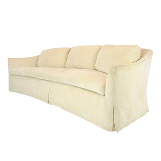 The 2719 Curved Sofa by A. Rudin For Sale