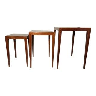 Severin Hansen Jr Teak Nesting Tables - Set of 3