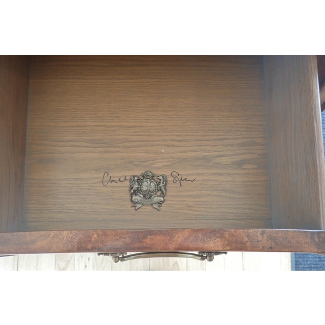Brown Theodore Alexander Bombay Front Chest For Sale - Image 8 of 9