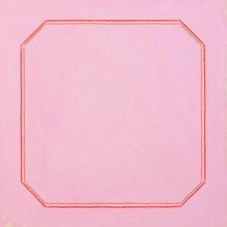 "Magenta Bright Pink Minimalist 20"" Fine Art Print For Sale"
