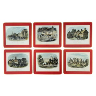 English Country Estate Placemats by Pimpernel - Set of 6 For Sale