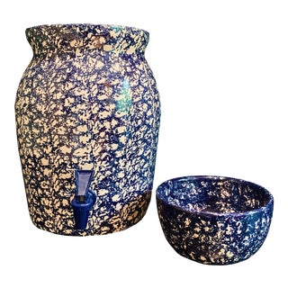 Master Potter Ceramics From Marshall Pottery - 2 Pieces For Sale