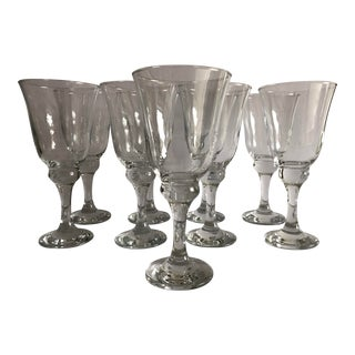 Modern Wine/Water Goblets S-9 For Sale