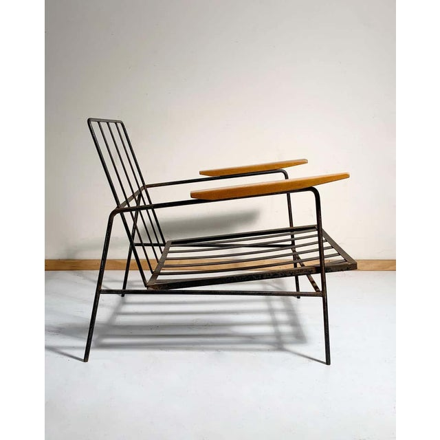 Mid 20th Century Vintage Modern Richard McCarthy Lounge Chair Frames- a Pair For Sale - Image 5 of 7