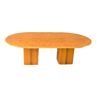 """Oval Dining Table"""" Artona"""" by Afra Scarpa For Sale"""