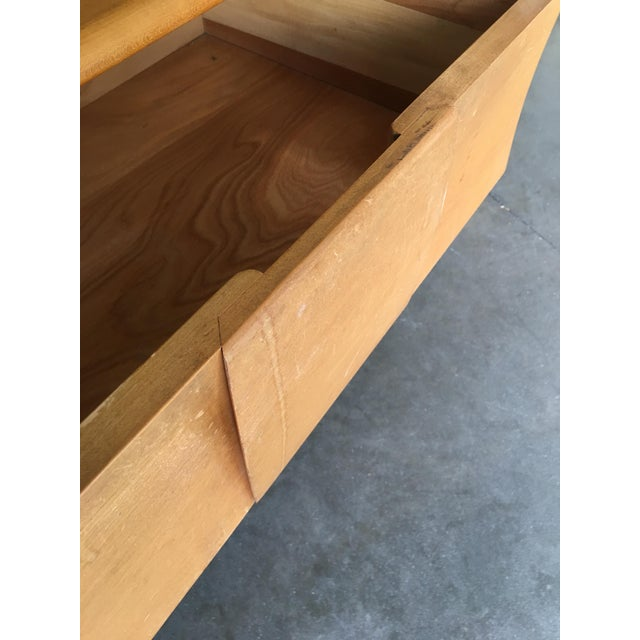 """Heywood-Wakefield """"Sculptura"""" Extra-Wide 6-Drawer Dresser For Sale - Image 9 of 10"""