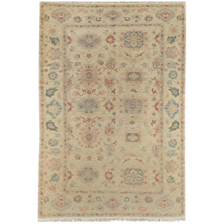 Mansour Exceptional Handmade Sultanabad Rug