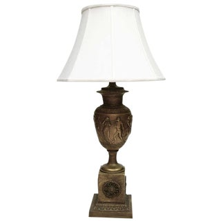 Urn Shaped Table Lamp For Sale