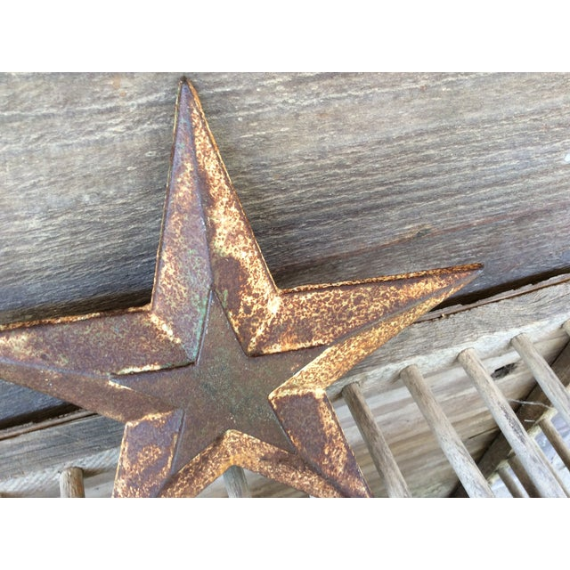 Vintage Cast Iron Star - Image 5 of 6