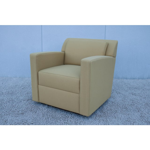 Modern Brian Cox for Bernhardt Design Entrada Lounge Chair For Sale - Image 13 of 13