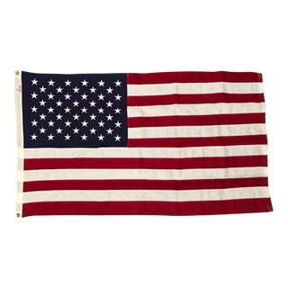 USA Capitol Building Flag W/ Provenance