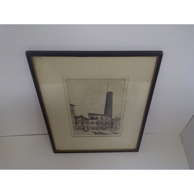 """""""Baltimore"""" Drawing by John McGrath, 1930 For Sale - Image 5 of 6"""