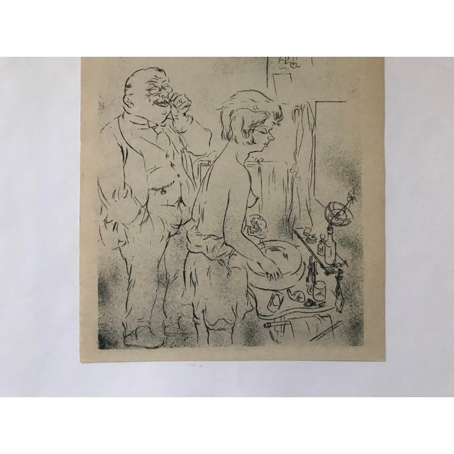 1920s The Uncle Bu Artists George Grosz Print For Sale - Image 5 of 8