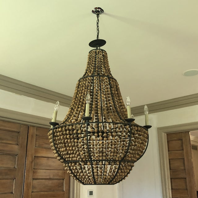 Currey and Company Falconwood Chandelier For Sale - Image 10 of 10