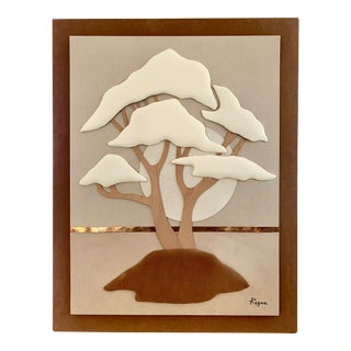 Vintage 3d Fabric Wall Art For Sale