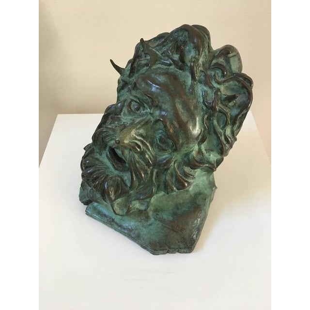 S. Lestage French Bronze Sculpture of Christ - Image 5 of 7