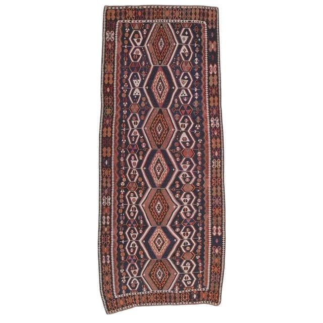 Antique Kagizman Kilim For Sale