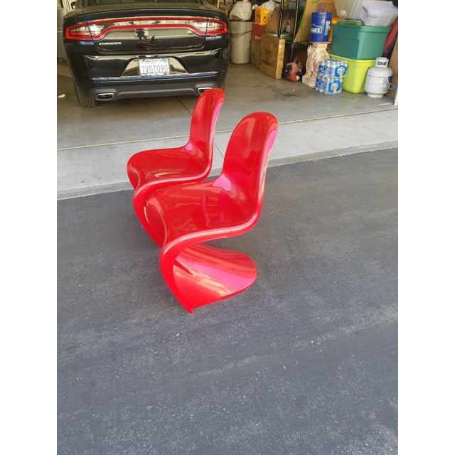 Mid-Century Modern Acrylic Chairs - A Pair - Image 4 of 5