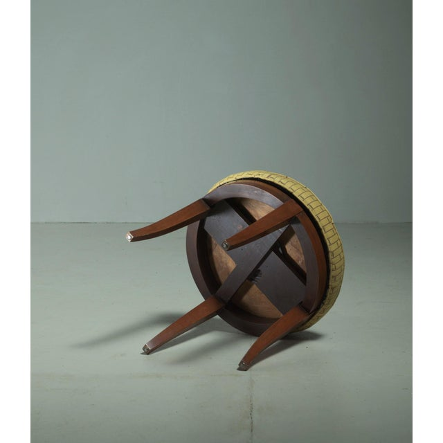 Paul Frankl Paul Frankl Stool, USA, 1944 For Sale - Image 4 of 5