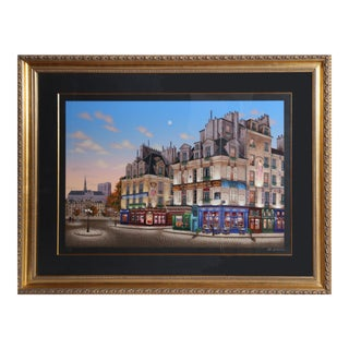"""Notre Dame at Dawn"", Serigraph by Liudmila Kondakova"