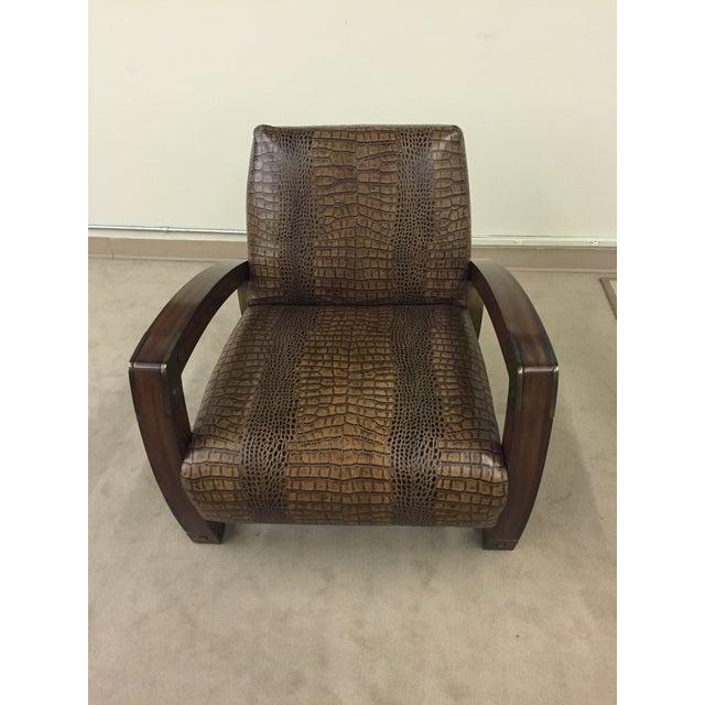 Lexington Furniture Apogee Leather Chair - Image 3 of 5