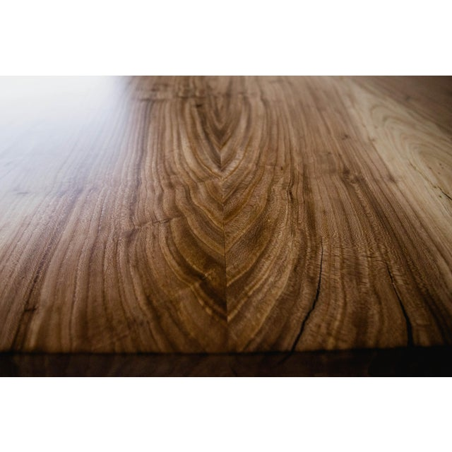Siberian Elm Conference Table For Sale - Image 4 of 7