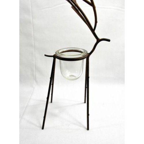 Deer Figure Votive Candle Holder - Image 6 of 8