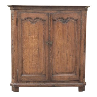19th Century Country French Wardrobe ~ Cabinet For Sale