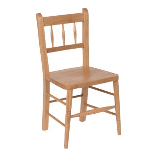 Irish Child's Chair in Natural Oak For Sale