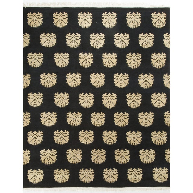 Modern Hand-Knotted Wool Rug - 2′ × 3′ - Image 1 of 3